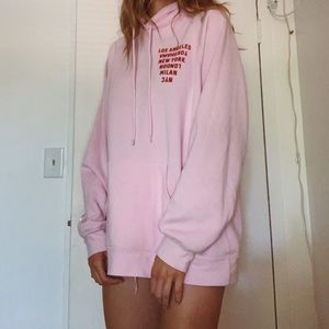 Forever 21 Sweaters - pink sweatshirt